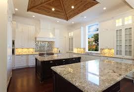 double kitchen island marc julien homes