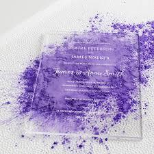 Wedding Invitation Cards In Nigeria Personalised Acrylic Wedding Invitations By Twenty Seven
