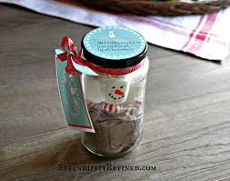 serendipity refined blog christmas mason jar cocoa gift and