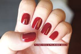 revlon bordeaux flying rice u0026 polishing nails