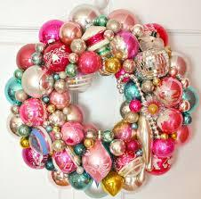 vintage ornament wreath www georgiapeachezwreaths com flickr