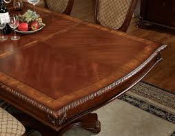 napa valley 9 pieces traditional dark cherry formal dining room