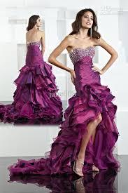 plum wedding dresses pink and brown wedding dress