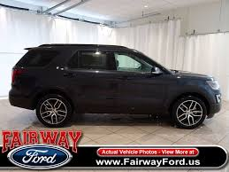 Ford Explorer Mpg - 2017 new ford explorer sport 4wd at fairway ford serving