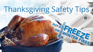thanksgiving cooking safety put a freeze on winter fires 2014