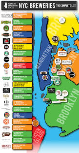 Beer Map New York Brewery Map New York Map