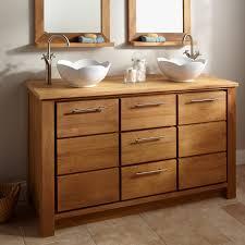 Real Wood Vanities Wood Vessel Sink Teak Root Vessel Sink Image Of Bathroom