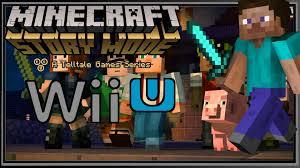 minecraft story mode wii u infos u0026 avis youtube