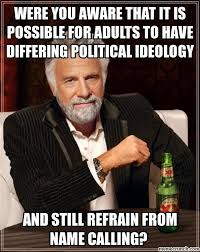 It Can Wait Meme - you aware that it is possible for adults to have differing political