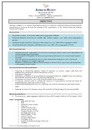 Resume Samples For Experienced Software Professionals by Resume Of Software Engineer Doc
