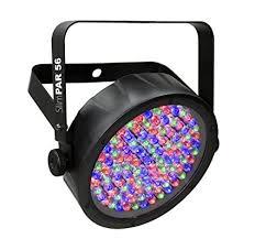 Amazon Com Chauvet Dj Slimpar 56 Led Par Can Wash Light W Built In