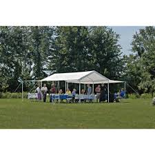 shelterlogic outdoor canopy tent with enclosure u0026 extension kits