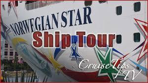 norwegian star full ship tour youtube