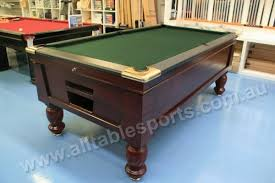 Telemetry Coin Operated Pool Table