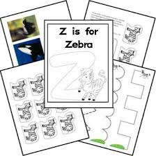 14 best zebra theme images on pinterest preschool alphabet
