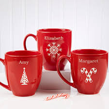 personalized mugs with cocoa