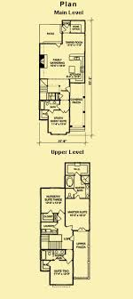 floor plans for narrow lots narrow lot plans for a carolina style coastal house