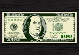 100 dollar bill vector download free vector art stock graphics