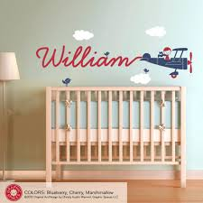 Nursery Wall Decals For Boys Wall Decal For Boys Room Wall Decor For Baby Nursery Wall Decor