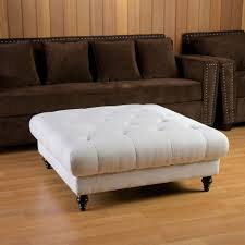 burlap ottoman for sale upholstered storage bench with arms tufted