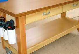 Ideas For Workbench With Drawers Design Bench Portable Work Bench Entertain Portable Shop Bench