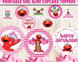 elmo party supplies girl elmo party etsy