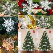 6pcs for wall windows decor christmas 3d foam snowflake hanging