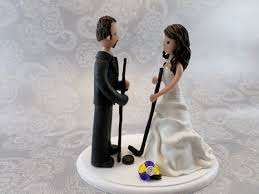hockey cake toppers hockey groom wedding cake topper unavailable listing on etsy