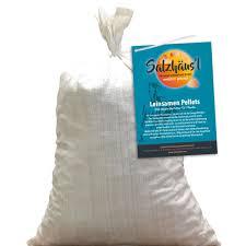 si e de pellet bio leinsamen pellets frisch gepresst 10 kg aktion frühling