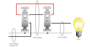 two pole light switch 2 pole light switch wiring diagram