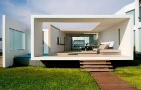 Luxury Home Design Magazine - modern beach house with open window swimming pool decoration and