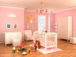 Pink And Brown Curtains For Nursery by Baby Room Impressive Baby Room Decoration Using White Crib And