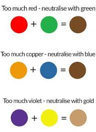 mixing colors chart with a pair of birds as the primary colors