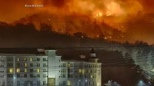 Tennessee forest images Tennessee forest fire forces mass evacuation video abc news jpg