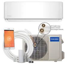 mitsubishi mini split floor unit mrcool diy 18 000 btu 1 5 ton ductless mini split air conditioner