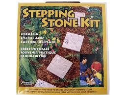 Decorative Stepping Stones Home Depot by Milestones Basic Stepping Stone Kits Misterart Com