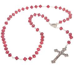 rosary from the vatican vatican murano glass blessed rosary qvc