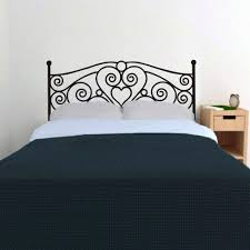bed frame wall decal popular bed headboards wall decal buy cheap