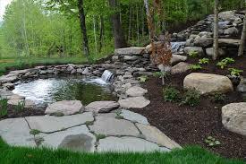garden rocks ideas pond landscaping rocks fleagorcom