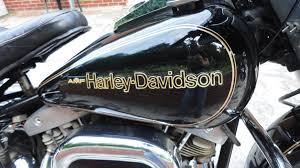 1978 harley davidson flh 1200 electra glide anniversary black