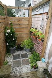 Outdoor Shower Enclosure Camping - outside shower ideas astonishing the outdoor talk of house