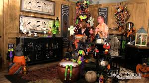 decorated halloween trees halloween decorating with everyday items youtube