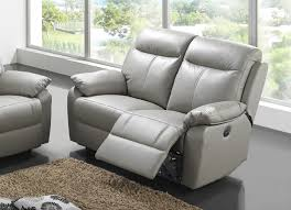canape 2 places relax canapé 2 places cuir relax victory gris