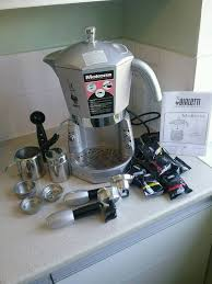 espresso maker bialetti bialetti mokona electric espresso cappuccino maker in holborn