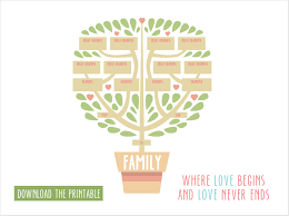 17 creative family tree ideas printables personal creations