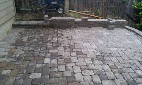 Hardscaping Ideas For Small Backyards by Patio U0026 Outdoor Brick Pavers For Backyard Hardscape Ideas