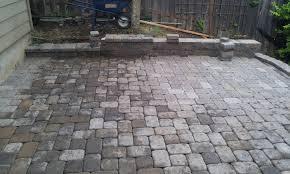 patio u0026 outdoor brick pavers for backyard hardscape ideas