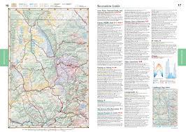 Colorado Game Unit Map by Colorado Benchmark Road U0026 Recreation Atlas Benchmark Maps