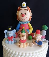 circus baby shower baby decoration boy birthday cake