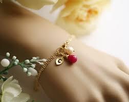 monogram bracelet gold monogram bracelet gold personalized initial leaf bracelet